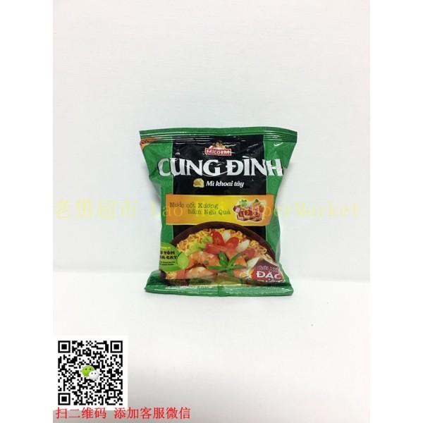 越南泡面 MICOEM 虾味泡面80g
