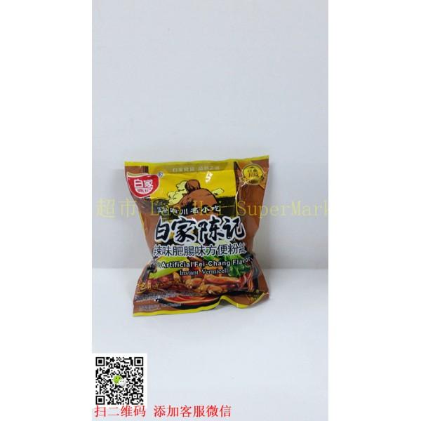 白家陈记辣味肥肠味方便粉丝108g