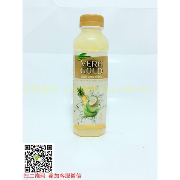 韩国OKF 芦荟王 (菠萝椰子味)500ml