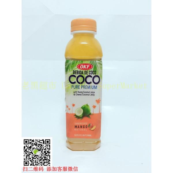 韩国OKF 椰果汁 (芒果味)500ml