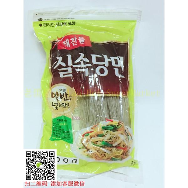 Koreańskie słodkie kluski Makaron