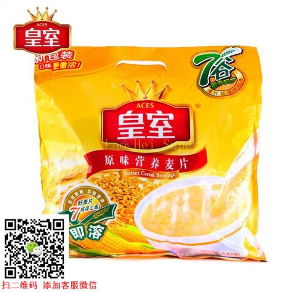 皇室 营养原味麦片 400g (20包装)