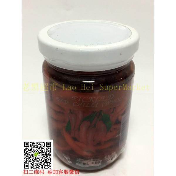 泰国鸡牌 泡小红椒 227g