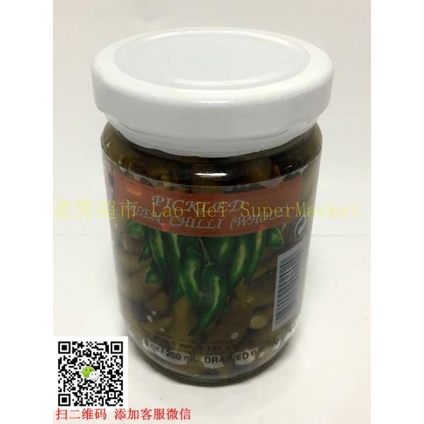 泰国鸡牌 泡小青椒227g