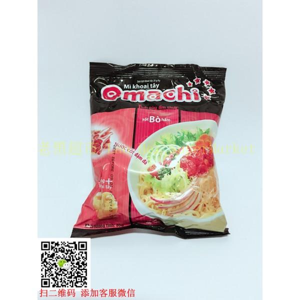 越南Omachi 袋装泡面(排骨)80g