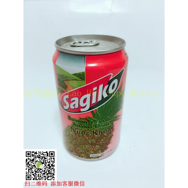 越南Sagiko 凤梨汁  320ml