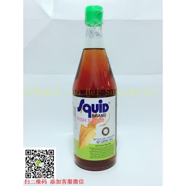 Squid 鱼酱725ml